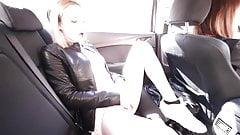 Girlfriend Naughty in the Car
