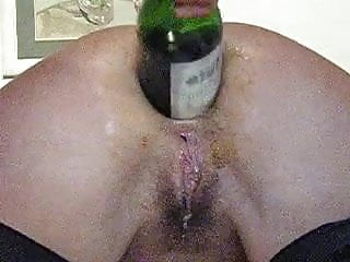 Preview 4 of Amateur wife extreme anal punch fisting and bottle fucking