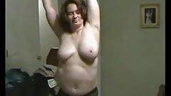 Bbw esposa bailando