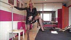 full fashion stocking chastity lady