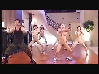 CMNF-Jap Nude Gym