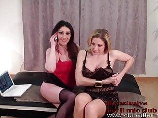 Lesbo Show - Vittoria Risi and Laura Perego