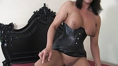 Hot milf make a slave of sex