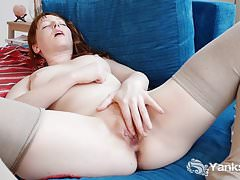 Yanks Redhead Ruth Carter Loses Her Vibrator