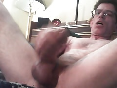 love playing with my cock