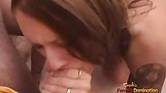 Incredible girlfriend loves giving amazing blowjobs to her h