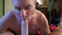 Making Stevens cock and balls very happy