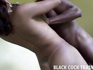 My big black tranny cock is going up your ass balls deep