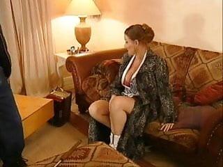 Bbw milf with big boobs likes anal