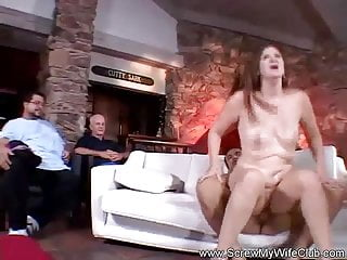 Hotwife Swinger Plays Games