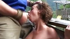 rough sex in the mountain