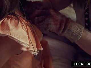 TEENFIDELITY Lilly Ford Creampied By A Clown