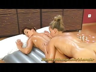 cute lesbian slippery nuru massage girls