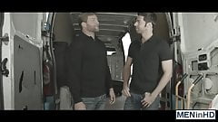 Dario takes Colbys fat dick in his hole