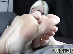 We found out about your little fetish for womens feet
