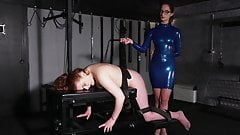 Lesbian Mistress - Spanking and Whipping