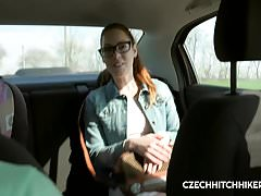 CZECH SLUT FOXY SANIE FUCKED WITH HORNY DRIVER