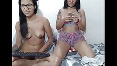 Sexy 2 young girls on webcam Lorena and anny inhomex
