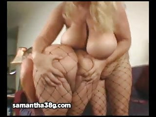 Big Tit Sluts Samantha 38G and Sienna Hills Lesbos