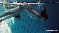 Hot underwater babe Lera from Russia