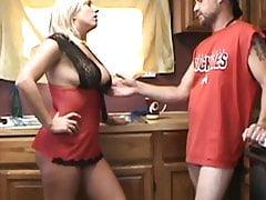 trophy wife gets dik