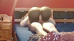 Big Ass Masturbator riding me 's Thumb