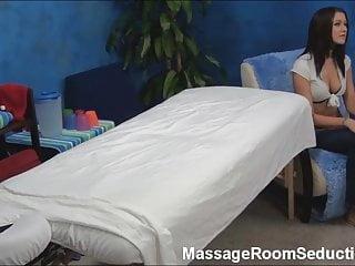 Tall Teen Seduced by Massage & Caught on Hidden Camera