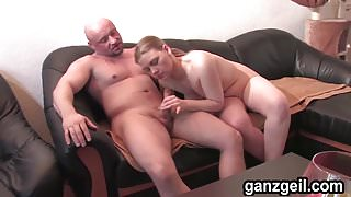 GanzGeil.com Blonde German babe gets fucked