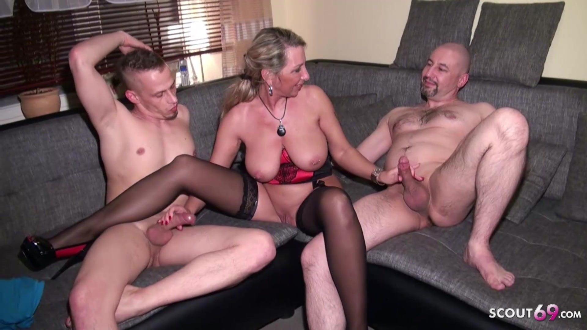 Husband and friend share wife