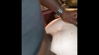 Amateur Wife fucking huge black Monster cock