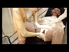 The RC - Rubber Straightjacket Piss Party