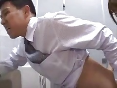 Asian Dominates with Strapon
