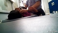 Doctor secretly touching nurse caught in hidden camera