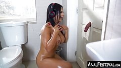 Massive booty Latina bounces on cock after glory hole suck's Thumb
