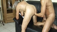 Grandma seduced by lustful stepson