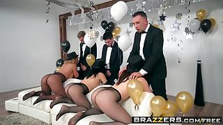 Brazzers - Pornstars Like it Big -  Brazzers New Years Eve P