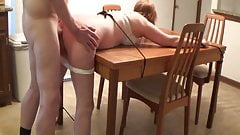 PR Restrained And Ass Fucked From Behind
