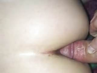 Ex slut loves cock in her ass