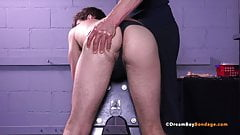 Michael Del Ray Twink Bound Dildo Fucked BDSM Gay Bondage