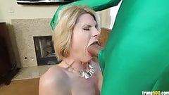 Beautiful Delia DeLions take some super dick