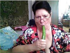 Fat Russian Granny Skype