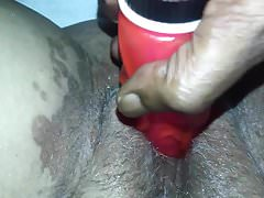 CREAMY PUSSY SQUIRT & DOUBLE STUFF PLAY