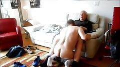 Naughty grandpa