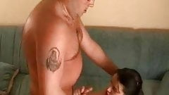Horny Teen Used By An Old Man