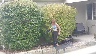 Hot mature neighbor hidden cam