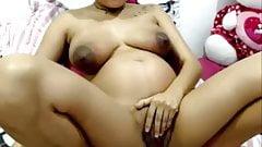 Lovely Pregnant Latina