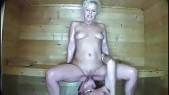 lekker neuken in de sauna