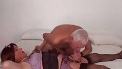 Old Man with Crossdresser