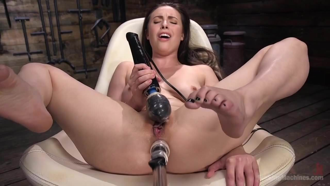 Fucking Machines Creamy Orgasm