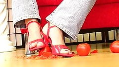 german femdom lady Joanne - food crush 2